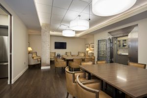 Hand Arendall Harrison Sale's dining space mixes modern design with traditional elements
