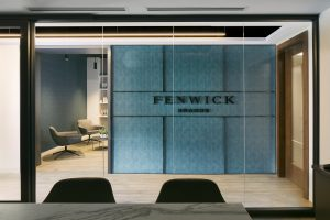 Fenwick Brands design elements are consistent throughout the space